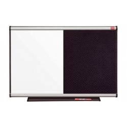 NOBO prestige combination board, tableau blanc/mousse