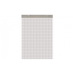 001BLOC Bloc-notes, sans couverture, A4, 210 x 297 mm