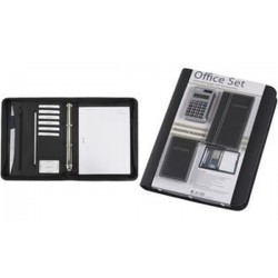 "Alassio Serviette classeur ""Office Set"", noir, incl. set de"