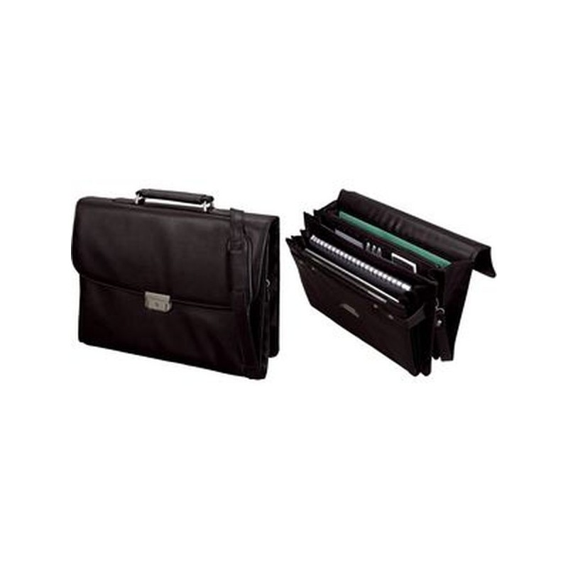 Alassio porte documents cantana similicuir noir mes articles de - Porte document de bureau ...