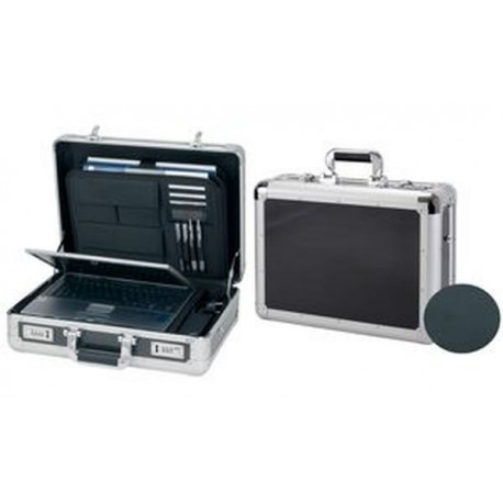 "ALUMAXX attaché-case pour laptop ""CARBON"", aluminium"