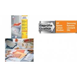 AVERY Zweckform Étiquettes universelles QuickPEEL,