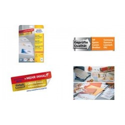 AVERY Zweckform Étiquettes multi-usages, 70 x 42,3 mm, blanc