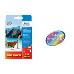 AVERY Zweckform BIG PACK papier photo pour imprimante jet