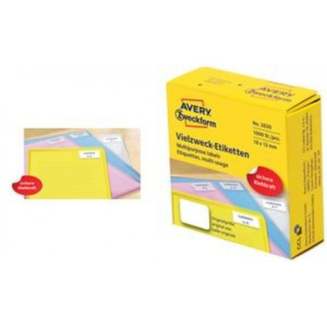 AVERY Zweckform Étiquettes, multi-usage, 50 x 19 mm,