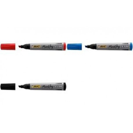 BIC Marqueur permanent Marking 2300 Ecolutions, rouge