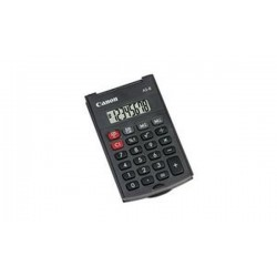 Canon Calculatrice AS-8, fonctionnement par piles