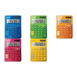 Canon Calculatrice de bureau LS-123K-MOR, couleur: orange