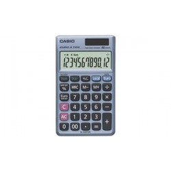 CASIO calculatrice SL-320 TER Plus, alimentation solaire/