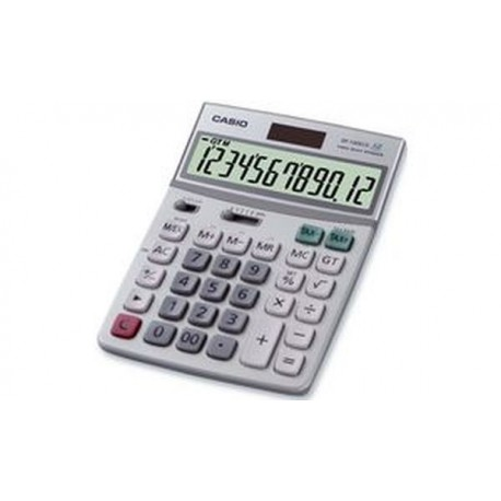 CASIO Calculatrice de bureau DF-120 ECO,alimentation solaire
