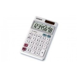 CASIO calculatrice SL-305 ECO, fonctionnement par pile ou