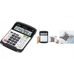 CASIO Calculatrice de bureau WD-320 MT, alimentation solaire