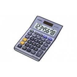 CASIO Calculatrice de bureau MS-88 TER II, alimentation