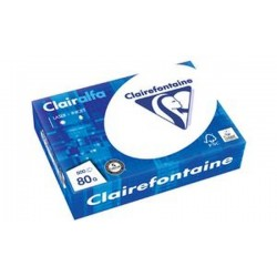 Clairalfa Papier multifonction, A5, 80 g/m2, extra blanc