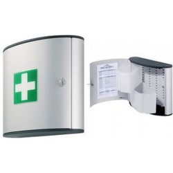 DURABLE FIRST AID BOX M, Design FIRST AID BOX, argenté