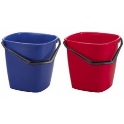 DURABLE seau multi-usages BUCKET, 14 litres, rectangulaire,