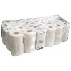 Fripa Papier hygiénique Basic, 2 couches, blanc, grand paquet. 48 rouleaux