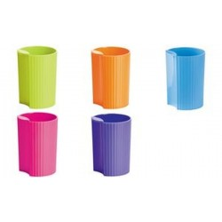 HAN Pot à crayons LOOP Trend Colour, plastique, rose