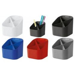 HAN Multipot à crayons X-LOOP, 4 compartiments, rouge