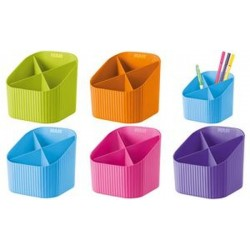HAN Multipot à crayons X-LOOP Trend Colour, 4 compartiments,