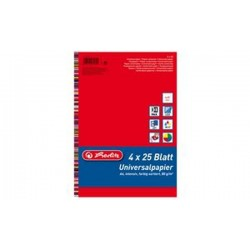 "herlitz Papier multifonctionnel ""Colourmix"", A4, 80 g/m2,"