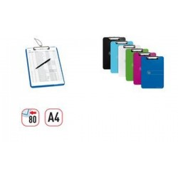 herlitz Porte-bloc easy orga to go, A4, transparent