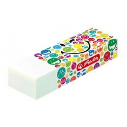 "herlitz Gomme SmileyWorld ""Rainbow"", caoutchouc synthétique"