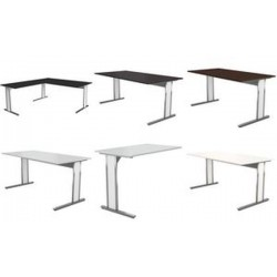 kerkmann Table annexe AVETO, (L)1.000 mm, weng'