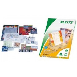 LEITZ pochette de plastification, A4, brillant, 200 mic