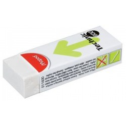 Maped Gomme plastique Technic 600, blanc