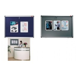 NOBO vitrine, extra plate, surface d'affichage en Tissu, A0