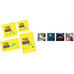 3M Post-it Notes Super Sticky Notes, 76 x 76 mm,