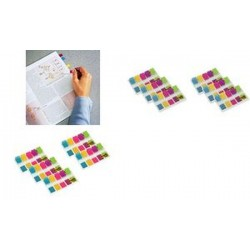 Post-it marque-pages index mini,11,9 x 43,2 mm, pack éco