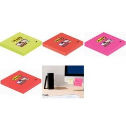 3M bloc-notes post-it Super Sticky Notes, 76 x 76 mm