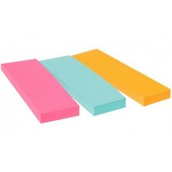 Post-it marque-page Marker, 22,2 x 73 mm, 3 couleurs
