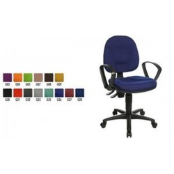 "Topstar Fauteuil de bureau ""Point 10"", bleu royal"