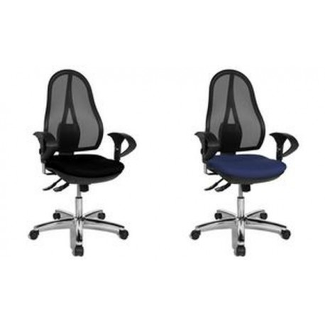 topstar fauteuil de bureau open point sy deluxe bleu mes articles de. Black Bedroom Furniture Sets. Home Design Ideas