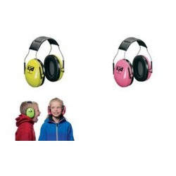 3M Peltor kid capsule protection auditive H510, rose néon /