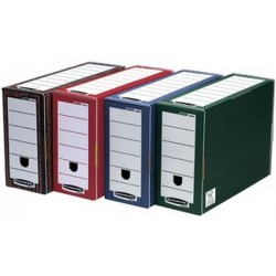 Fellowes BANKERS BOX PREMIUM Boîte d'archives Bankers, rouge