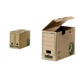Fellowes boîte archives BANKERS BOX EARTH, (L)80 mm, marron