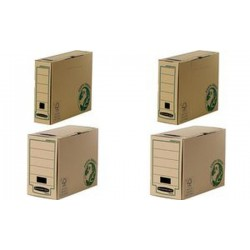 Fellowes Boîte d'archives BANKERS BOX EARTH, marron,