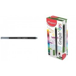 Maped Fineliner Graph'Peps, rouge