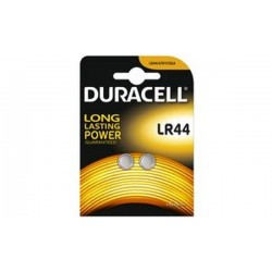 "DURACELL piles bouton alcalines ""Electronics"", LR44, blister"