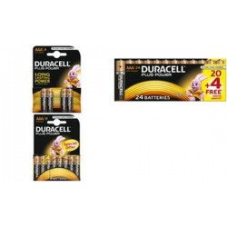 "DURACELL piles alcaline ""PLUS POWER"", Micro AAA,"