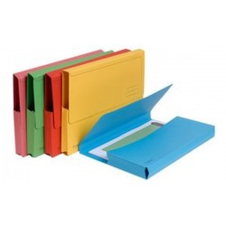 EXACOMPTA Pochette document FOREVER, A4, couleurs assorties