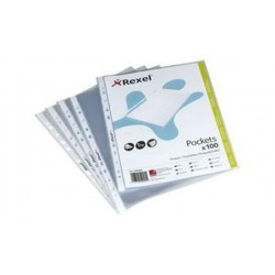 "REXEL Pochettes ""top quality"", A4, PP, transparent, 0,08 mm"