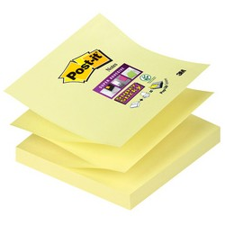 Post-it Bloc-note Super Sticky Z-Notes, 70 x 70 mm