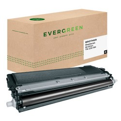 EVERGREEN Toner remplace brother TN-230BK, noir